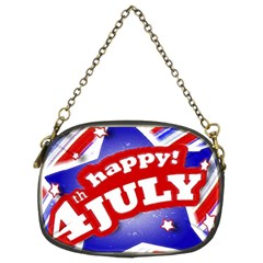 4th Of July Celebration Design Chain Purse (two Sided)  by dflcprints