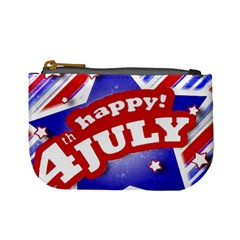 4th Of July Celebration Design Coin Change Purse by dflcprints