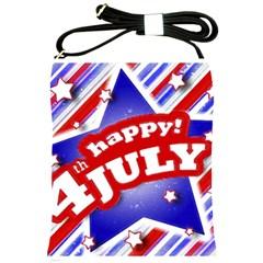 4th Of July Celebration Design Shoulder Sling Bag by dflcprints