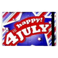 4th Of July Celebration Design Apple Ipad 3/4 Flip Case by dflcprints