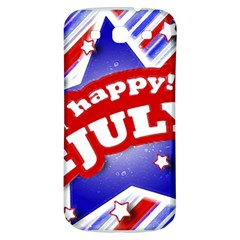 4th of July Celebration Design Samsung Galaxy S3 S III Classic Hardshell Back Case by dflcprints
