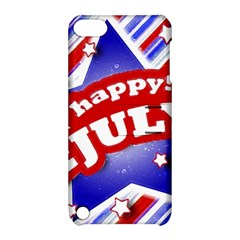 4th Of July Celebration Design Apple Ipod Touch 5 Hardshell Case With Stand by dflcprints
