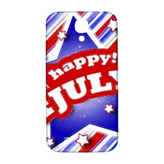 4th Of July Celebration Design Samsung Galaxy S4 I9500/i9505  Hardshell Back Case by dflcprints