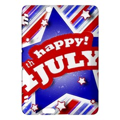4th Of July Celebration Design Kindle Fire Hdx 7  Hardshell Case by dflcprints