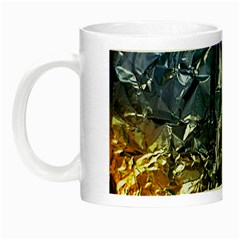 Texture   Rainbow Foil By Dori Stock Glow In The Dark Mug by TheWowFactor
