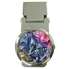 Texture   Rainbow Foil By Dori Stock Money Clip With Watch by TheWowFactor