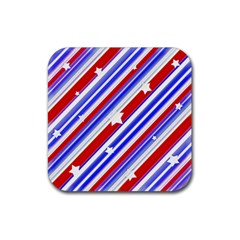 American Motif Drink Coaster (square) by dflcprints