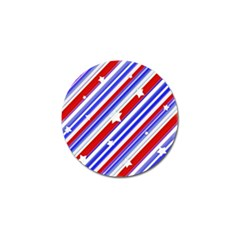 American Motif Golf Ball Marker 4 Pack by dflcprints