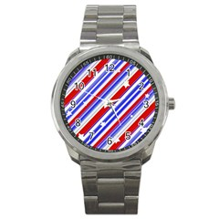 American Motif Sport Metal Watch