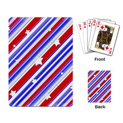 American Motif Playing Cards Single Design by dflcprints