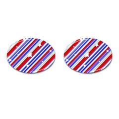 American Motif Cufflinks (oval) by dflcprints
