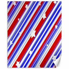 American Motif Canvas 11  X 14  (unframed) by dflcprints