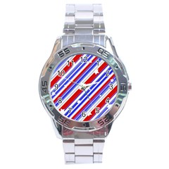 American Motif Stainless Steel Watch by dflcprints