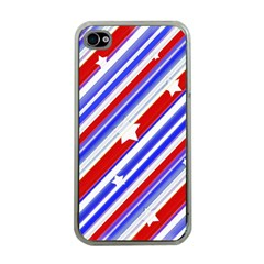 American Motif Apple Iphone 4 Case (clear) by dflcprints