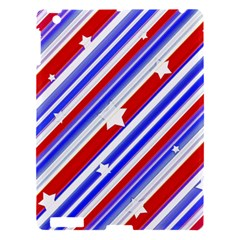 American Motif Apple Ipad 3/4 Hardshell Case by dflcprints