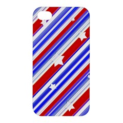 American Motif Apple Iphone 4/4s Premium Hardshell Case by dflcprints