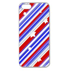 American Motif Apple Seamless Iphone 5 Case (clear) by dflcprints