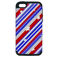 American Motif Apple Iphone 5 Hardshell Case (pc+silicone) by dflcprints