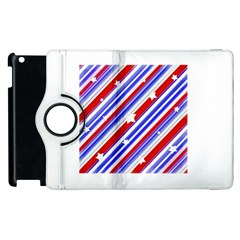 American Motif Apple Ipad 2 Flip 360 Case by dflcprints