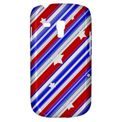 American Motif Samsung Galaxy S3 Mini I8190 Hardshell Case by dflcprints