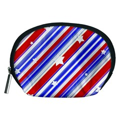 American Motif Accessory Pouch (medium) by dflcprints