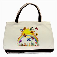 Butterfly Rainbow Days Classic Tote Bag by AlteredStates