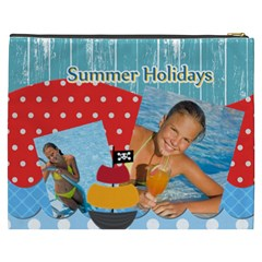 Summer By Summer Time    Cosmetic Bag (xxxl)   Dend9zndro05   Www Artscow Com Back