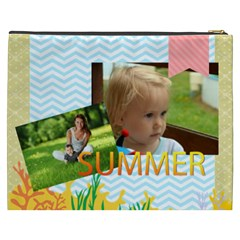 Summer By Summer Time    Cosmetic Bag (xxxl)   Ip5hvsh9vsnk   Www Artscow Com Back