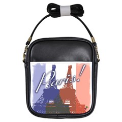 Paris! Girl s Sling Bag by CrackedRadish