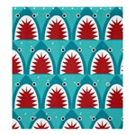shark - Shower Curtain 66  x 72  (Large)