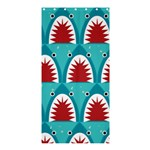 sharks - Shower Curtain 36  x 72  (Stall)