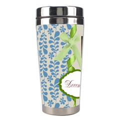 Christmas By Joely   Stainless Steel Travel Tumbler   J6ssiolc8nwh   Www Artscow Com Left