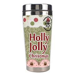 Christmas By Joely   Stainless Steel Travel Tumbler   3652x9c3p6w8   Www Artscow Com Left