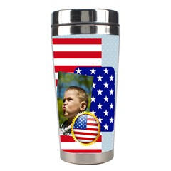 Usa  By Usa   Stainless Steel Travel Tumbler   V45z42en96ps   Www Artscow Com Right