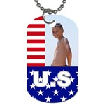 usa - Dog Tag (Two Sides)
