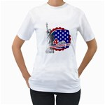 usa - Women s T-Shirt (White)