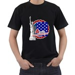 usa - Men s T-Shirt (Black)