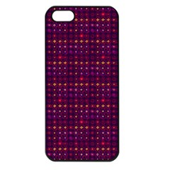 Funky Retro Pattern Apple Iphone 5 Seamless Case (black) by SaraThePixelPixie