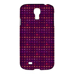 Funky Retro Pattern Samsung Galaxy S4 I9500/i9505 Hardshell Case by SaraThePixelPixie
