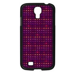 Funky Retro Pattern Samsung Galaxy S4 I9500/ I9505 Case (black) by SaraThePixelPixie
