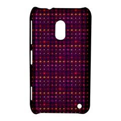 Funky Retro Pattern Nokia Lumia 620 Hardshell Case by SaraThePixelPixie