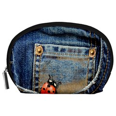 Blue Jean Butterfly Accessory Pouch (large) by AlteredStates