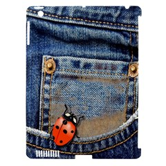 Blue Jean Butterfly Apple Ipad 3/4 Hardshell Case (compatible With Smart Cover) by AlteredStates
