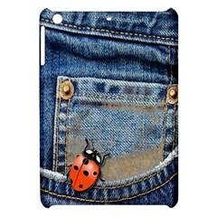 Blue Jean Butterfly Apple Ipad Mini Hardshell Case by AlteredStates