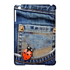 Blue Jean Butterfly Apple Ipad Mini Hardshell Case (compatible With Smart Cover) by AlteredStates