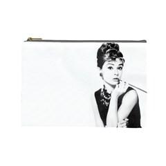 Audrey By Gabriella Montemayor   Cosmetic Bag (large)   Cwzqb0yf4iu8   Www Artscow Com Front