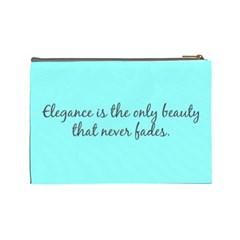 Audrey By Gabriella Montemayor   Cosmetic Bag (large)   Cwzqb0yf4iu8   Www Artscow Com Back
