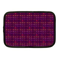 Funky Retro Pattern Netbook Sleeve (medium) by SaraThePixelPixie