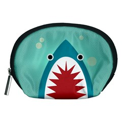 Sharks By X   Accessory Pouch (medium)   E0wlwtal8aoe   Www Artscow Com Front