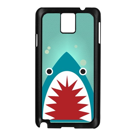 Shark By X   Samsung Galaxy Note 3 N9005 Case (black)   F81ggxg3qgh6   Www Artscow Com Front